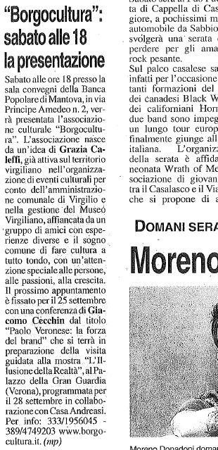 la Voce di Mantova - 11 settembre 2014, pag. 15