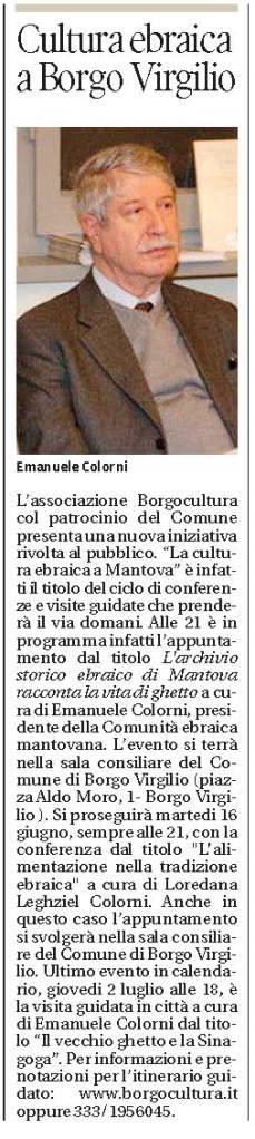 Gazzetta di Mantova, 3 giugno 2015