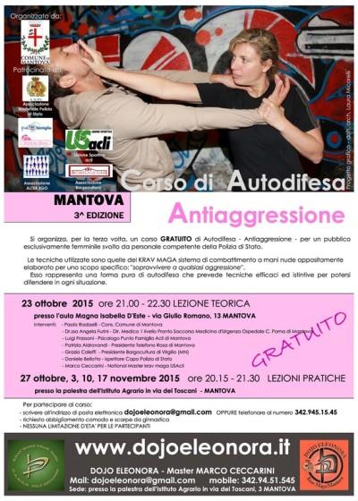 CORSO ANTIAGGRESSIONE 2015 Mantova manifestoSmall